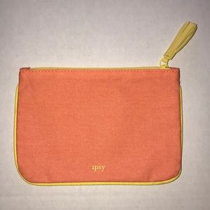 Ipsy Cosmetic Canvas Bag